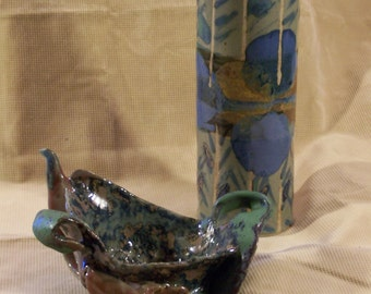 Vase & Candle holder (Monet Collection)