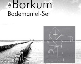 "Farbenmix pattern children bathrobe ""kleinBorkum"""