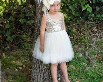 Golden tutu dress -  XSmall