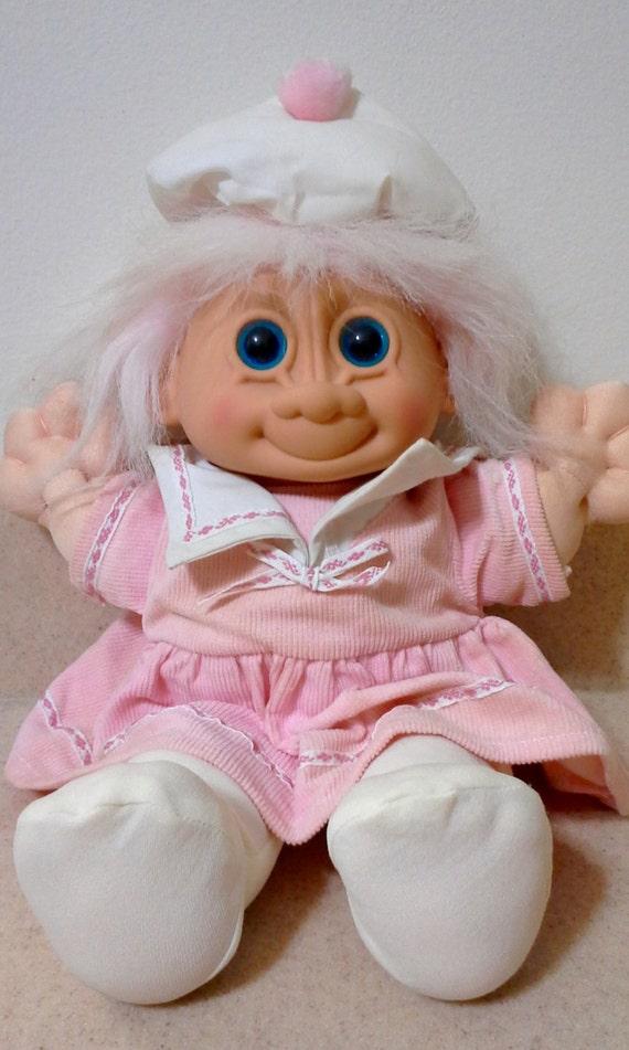 1980 S Russ Troll Doll Plush Troll Doll Large Troll
