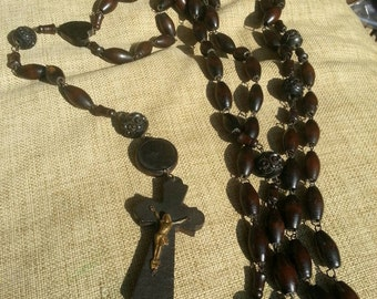 French wooden rosary (XXXL)