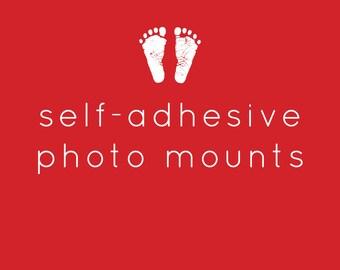40 Self-Adhesive Photo Mounts