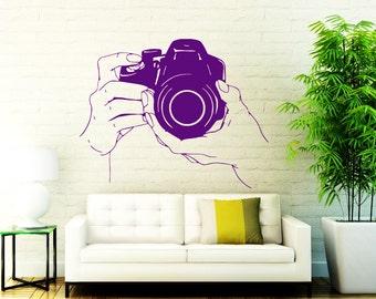 Camera Decal Etsy