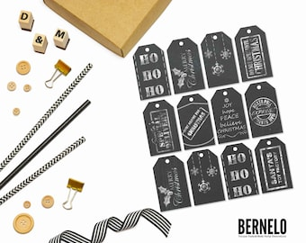 Christmas Tags, Gift Tags, Printable Tags, Christmas, Christmas tags
