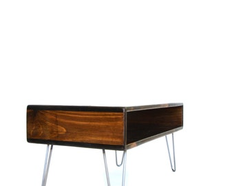 """36"""" x 18"""" Coffee Table, One Cubby Storage"""