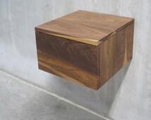 articles populaires correspondant table de chevet flottant sur etsy. Black Bedroom Furniture Sets. Home Design Ideas