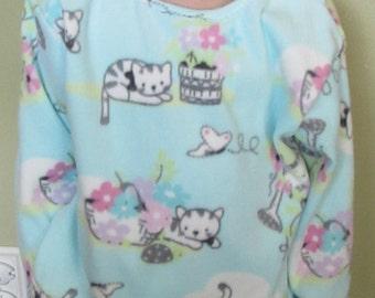 Kitty Cat micro fleece pajamas