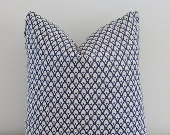 Navy Linen Pillow Cover Decorative Throw Pillow, Accent Pillow, Toss Pillow 16 18 20 22 24 26 Euro