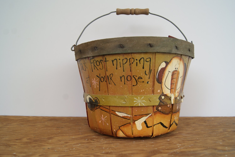 Bushel Basket Home Decor