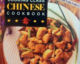 Vintage Chinese Cookbook Cooking Class
