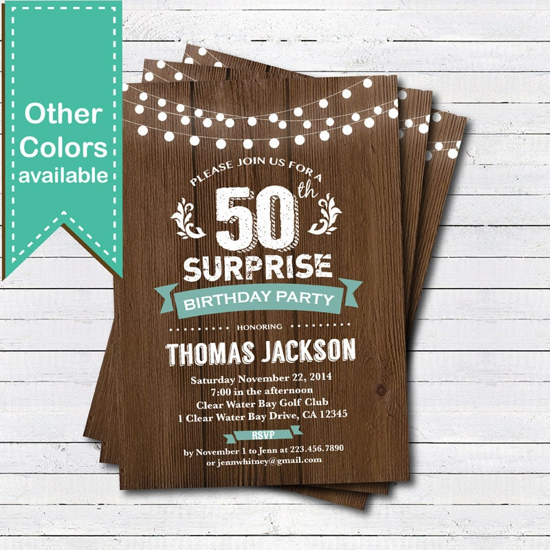 Surprise 70th Birthday Party Invitations About Us Glamorous
