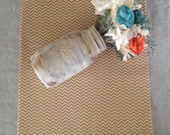 Gold table runners, fabric, gold Metallic, gold and cream chevron cotton , mini chevron, table runners, all occasion, Product ID# 2014-37