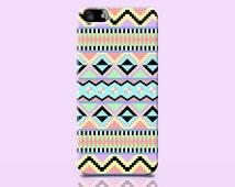 PASTEL iPhone 6 case, AZTEC iphone case, Pastel Cell Case, Birthday present, Ethnic Phone Case, Hipster iphone case, Zig Zag iphone 6 case