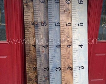 Wood Growth Chart Ruler