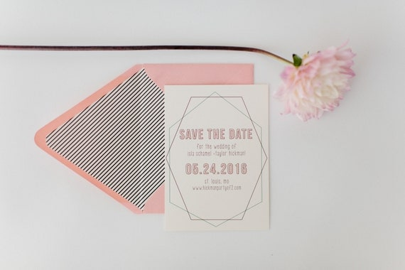 isla save the date invitation  -  customizable (sets of 10)  //  lola louie paperie