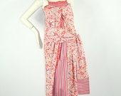 Rare Vintage 1970s Kenzo Jap floral sun dress // Hakama inspired