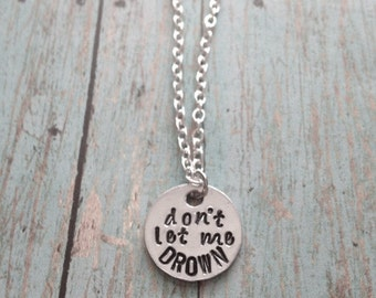 Bring Me The Horizon Drown Necklace