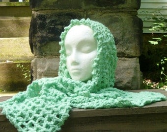 Hat and Scarf - Crochet All In One