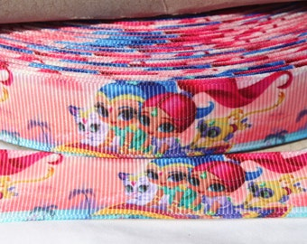 Character Ribbon 7/8 Inch Grosgrain Ribbon by the Yard for Hairbows, Scrapbooking, and More!!