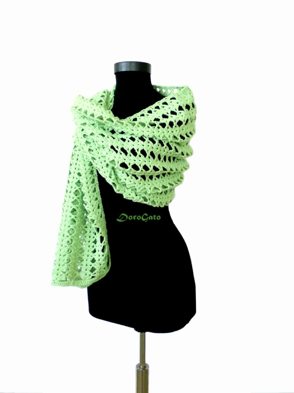 Easy Crochet Shawl Patterns Beginners : Easy crochet shawl pattern beginner Crochet pattern shawl