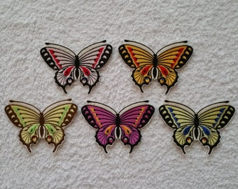Butterfly iron on or sew on patch Embroidered butterfly applique Butterfly applique Butterfly embroidery Butterfly patch Butterfly applique