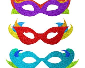 Masquerade clipart | Etsy