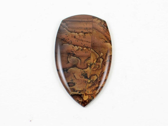 Rare Deschutes Jasper Cabochon Large Picture Stone, Pendant Stone Designer Cabochon Custom Cabochon Natural Stone Cabochon Hand Cut Handmade