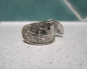 Vintage Spoon Ring - Size 6 / M