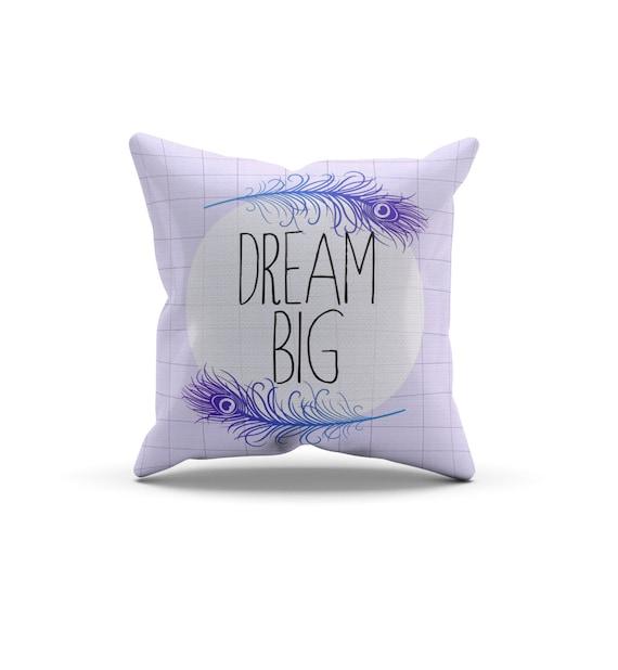 Throw Pillow Vendors : Purple Dream Big Pillow, Nursery Pillow,Throw Pillow, Kids Throw Pillow, Children s Dream Big ...