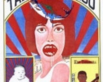 100 Posters of Tadanori Yokoo. Original Poster.