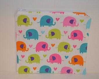 Elephant Pencil Pouch - Large Size