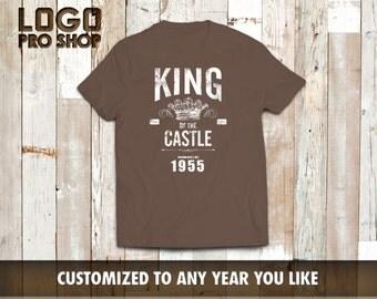 61th birthday, 61th birthday gifts for men, 61th birthday gift, 61th birthday tshirt, 1955, 61th birthday, the king 1955
