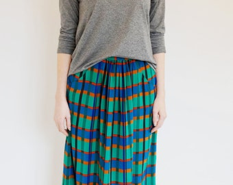 Vintage LIZ CLAIBORNE Midi Skirt - Designer