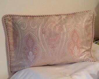 Pink Paisley Queen Pillow Sham