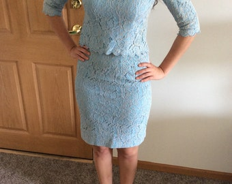 1960s Henry Lee two-piece outfit