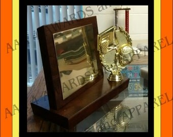 Custom Engraved Award with Wreath