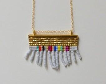 Multicolor Finge Pendant