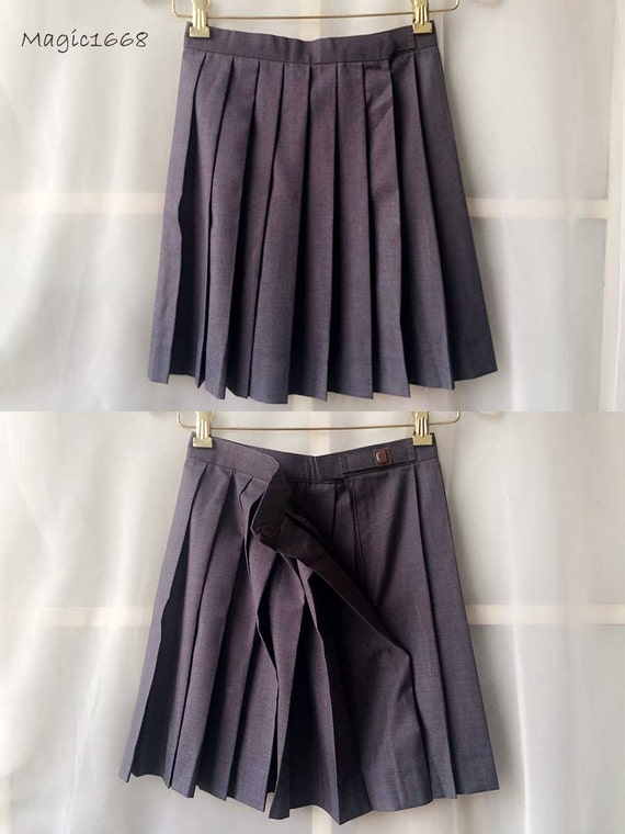 pleated skirt gray pleated skirts by dressromantic