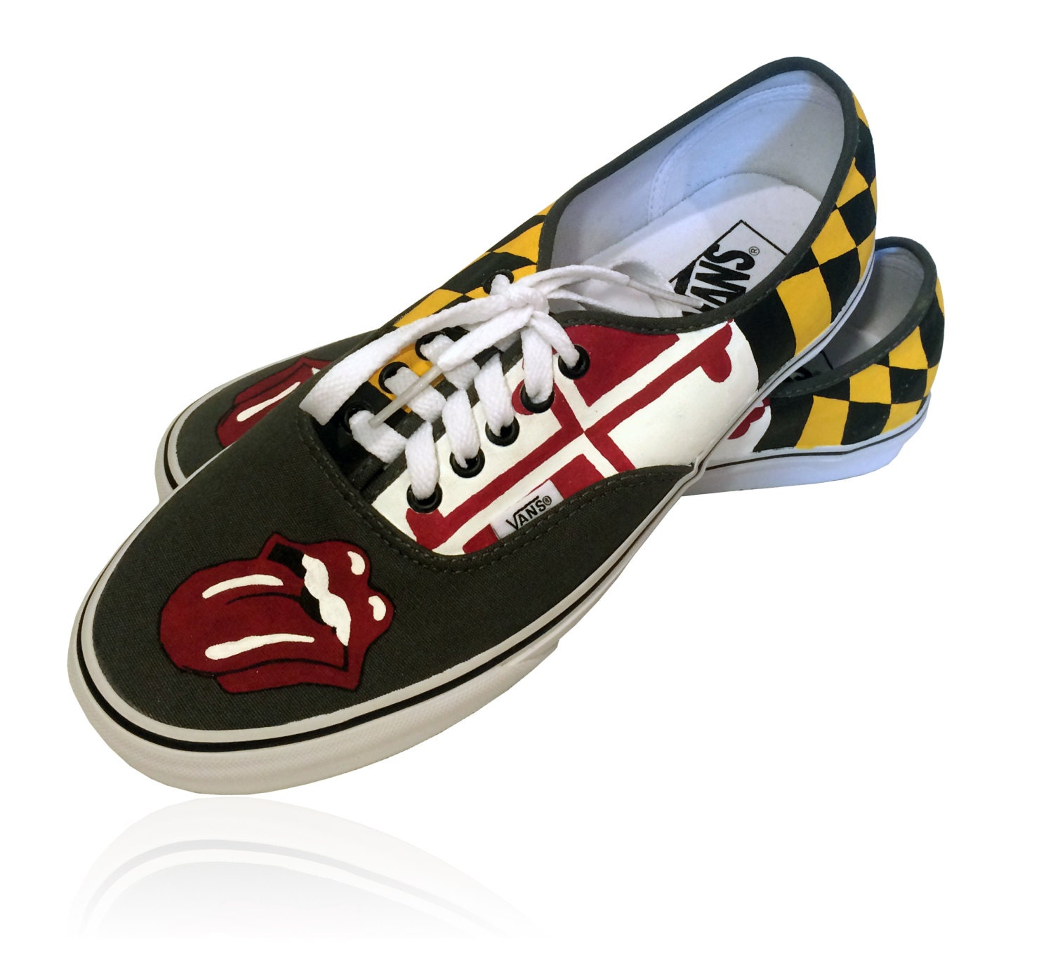 Vans Authentic Custom Maryland Flag L...
