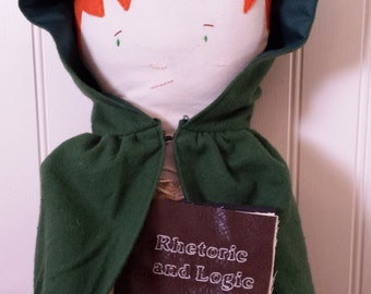 free shipping in US--Kvothe Doll from The Name of the Wind