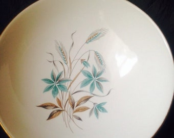 Canadian Wheat Georgian china serving bowl