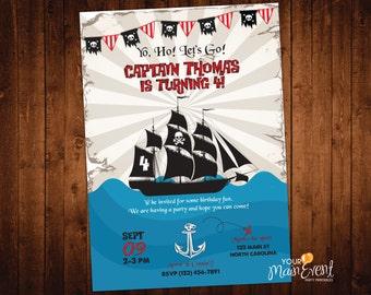 Pirate Birthday Invitation - Pirate Birthday - Pirate Birthday Ideas - Evite