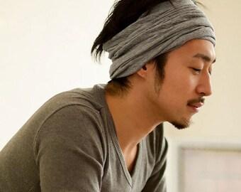 made in Japan from 100% Organic Cotton headband Neck warmer hair accessory style fashion design warm skin health th-oln
