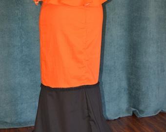 Costume, Woman, Handmade Victorian skirt, Belle Epoque era, theatre,  historical, movie