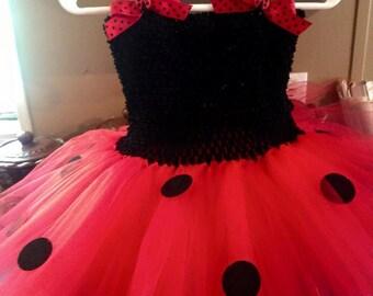 Lady Bug Tutu Costume