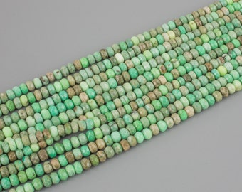 Chrysoprase Faceted Roundel sizes 6-16mm