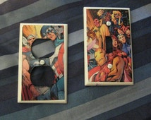 Avengers Light Switch And Outlet Covers