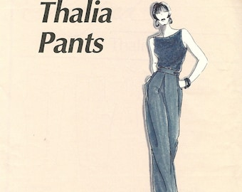 La Fred sewing pattern 102 wide leg pants - Size XS-XL