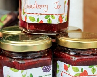 Fresh Home made Strawberry Jam