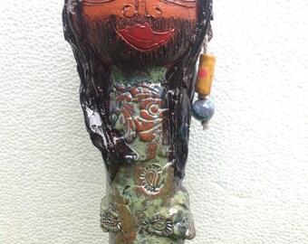 BORYNKA KONCHITA, sculpture, Garden ceramics